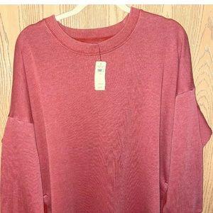 Aerie American Eagle Henna Desert Sweatshirt Large